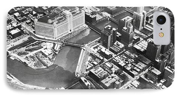 Chicago Merchandise Mart IPhone Case by Underwood Archives