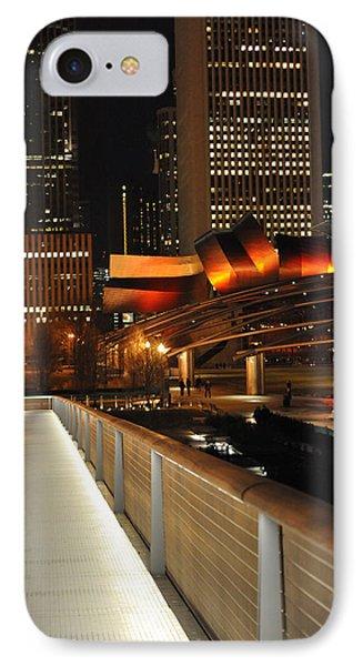 Chicago Millenium Park IPhone Case