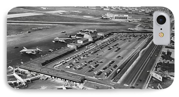Chicago Municipal Airport IPhone Case by Underwood Archives