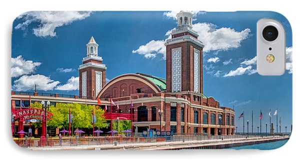 Chicago Navy Pier IPhone Case by Christopher Arndt
