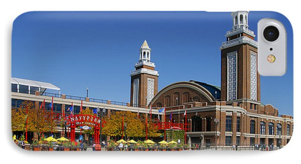 Chicago Navy Pier Headhouse Phone Case by Christine Till