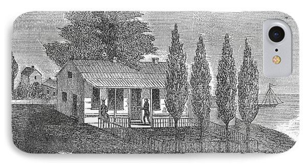 Chicago Old House, 1833 IPhone Case by Granger