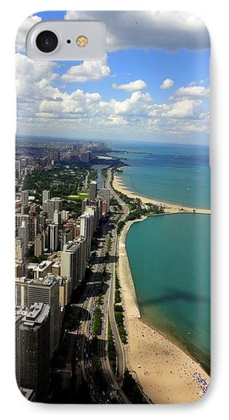 Chicago On The Lake IPhone Case
