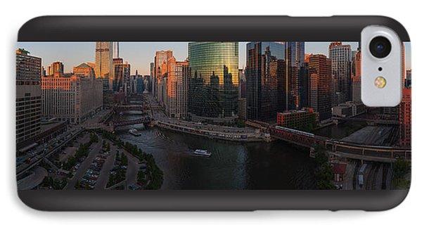 Chicago On The River Phone Case by Steve Gadomski