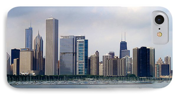 Chicago Panorama IPhone Case by Milena Ilieva