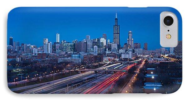 Chicago Panorama IPhone Case by Steve Gadomski
