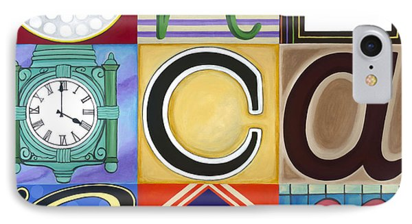 Chicago Picasso Squares Phone Case by Carla Bank