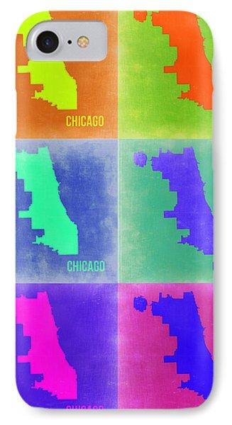 Chicago Pop Art Map 3 IPhone Case