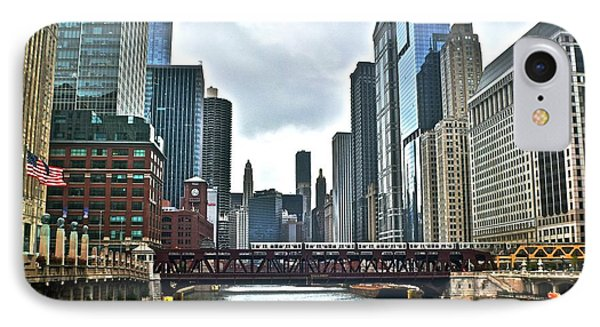 Chicago River And City IPhone 7 Case