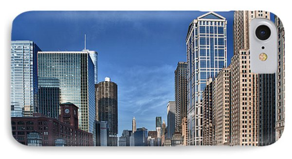Chicago River IPhone Case by Sebastian Musial