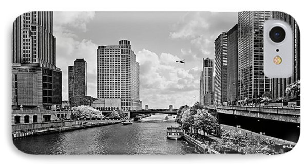 Chicago River - The River That Flows Backwards Phone Case by Christine Till
