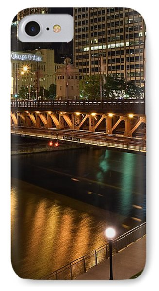 Chicago River Walk IPhone Case