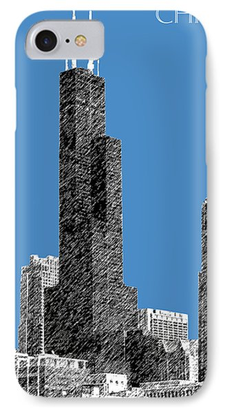 Chicago Sears Tower - Slate IPhone Case