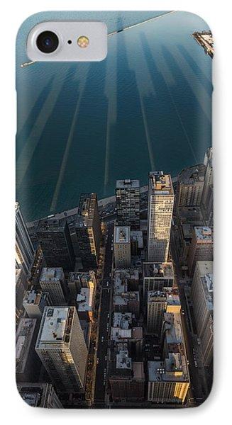 Chicago Shadows IPhone Case by Steve Gadomski