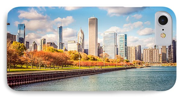 Chicago Skyline And Lake Michigan Photo Phone Case by Paul Velgos