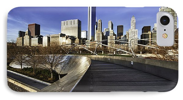 Chicago Skyline At Sunrise IPhone Case by Sebastian Musial
