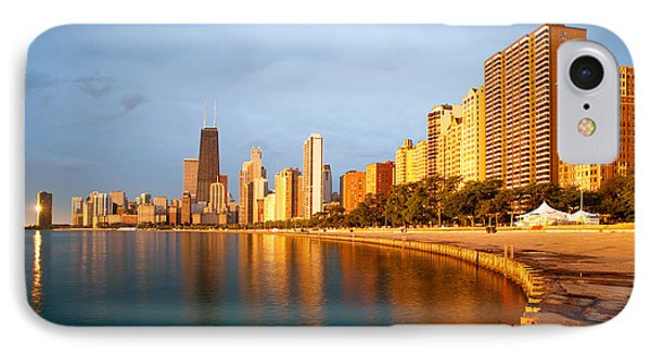 Chicago Skyline IPhone 7 Case by Sebastian Musial