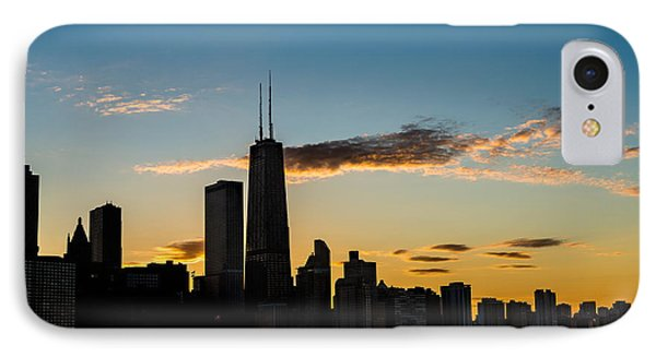 Chicago Skyline Silhouette IPhone 7 Case