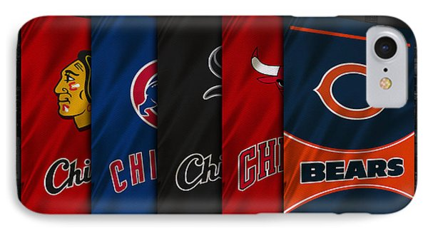 Chicago Sports Teams IPhone Case by Joe Hamilton