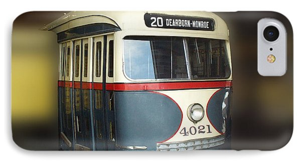 Chicago Street Car 20 Phone Case by Thomas Woolworth