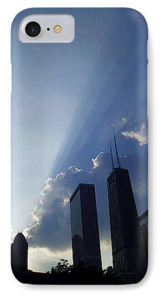 Chicago Sunset IPhone Case by Verana Stark