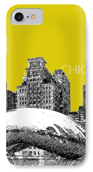 Chicago The Bean - Mustard Phone Case by DB Artist