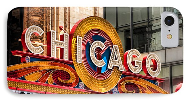 Chicago Theatre Marquee IPhone Case by Christopher Arndt