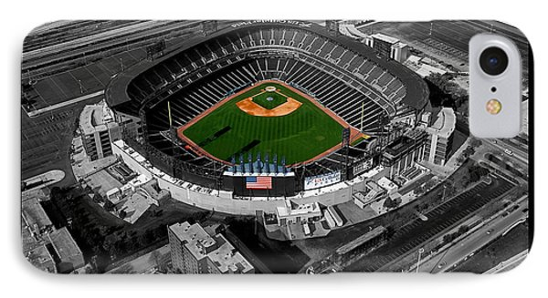 Chicago Us Cellular Field Sc IPhone Case by Thomas Woolworth