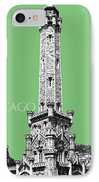 Chicago Water Tower - Apple IPhone Case by DB Artist
