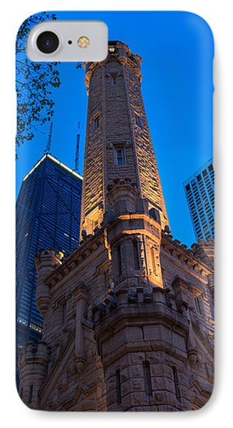 Chicago Water Tower Panorama IPhone Case