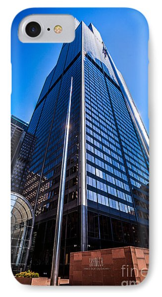 Chicago Willis Sears Tower High Resolution Picture IPhone Case