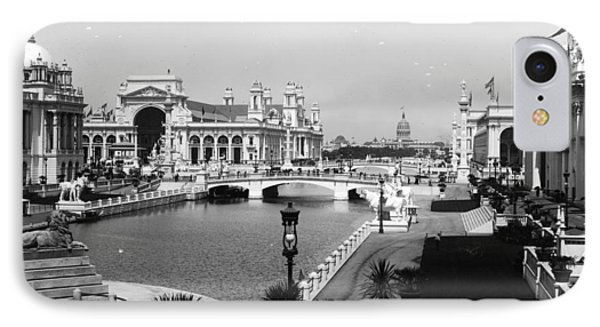 Chicago Worlds Columbian Exposition 1893 Phone Case by Historic Photos