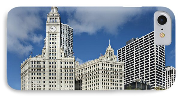 Chicago - Wrigley Building Phone Case by Christine Till