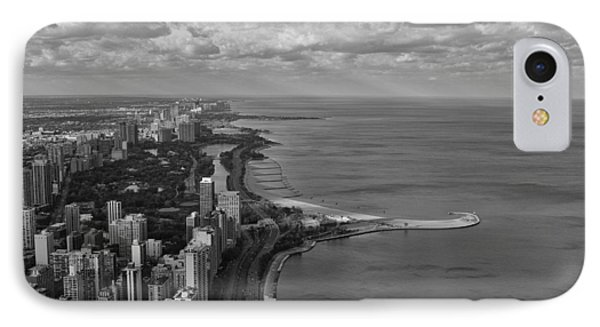 Chicago's Lake Front IPhone Case by Jerome Lynch