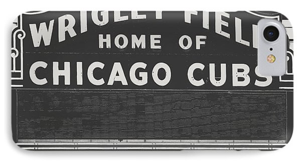 Chicago's Wrigley Field IPhone Case by Emily Kay