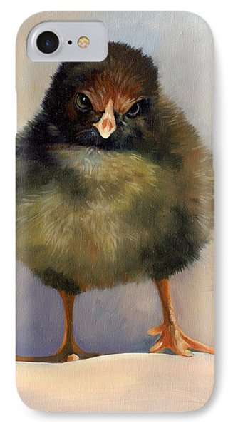 Chick With Attitude IPhone Case by Alecia Underhill