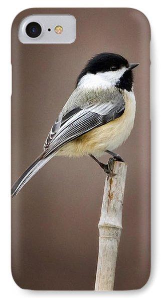 Chickadee IPhone 7 Case by Bill Wakeley