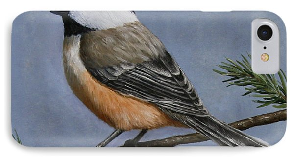 Chickadee Charm Phone Case by Crista Forest