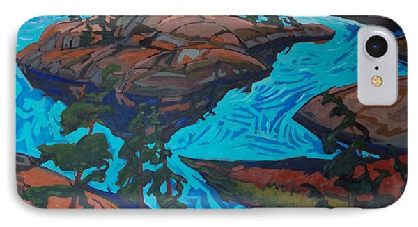 Chickanishing Creek IPhone Case by Phil Chadwick