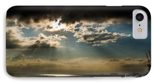 Chick's Beach Morning IPhone Case by Angela DeFrias
