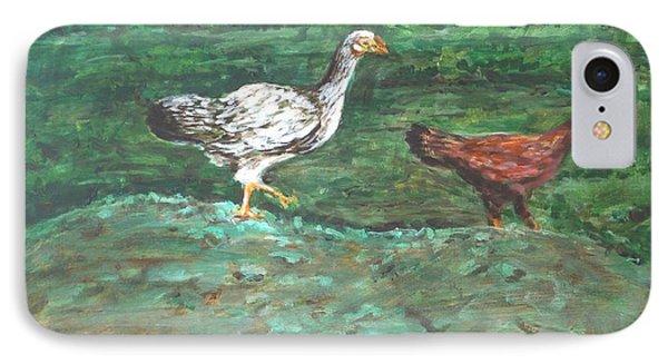 Chicks Phone Case by Usha Shantharam