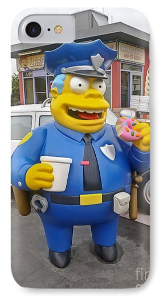 Chief Clancy Wiggum From The Simpsons IPhone Case