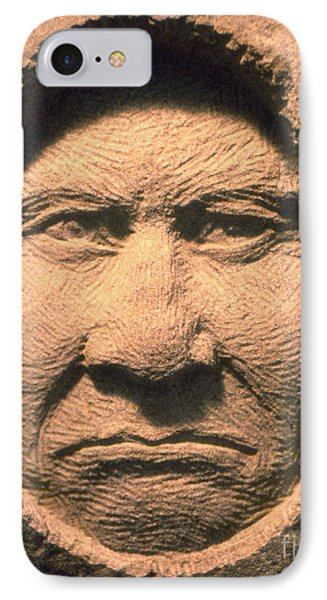 Chief-geronimo Phone Case by Gordon Punt