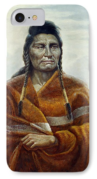 Chief Joseph IPhone Case by Gregory Perillo