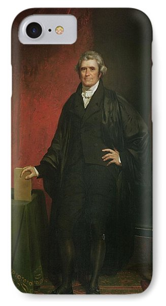Chief Justice Marshall Phone Case by Chester Harding
