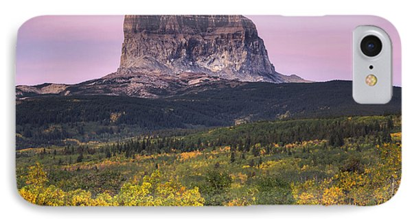 Chief Mountain Sunrise IPhone Case by Mark Kiver