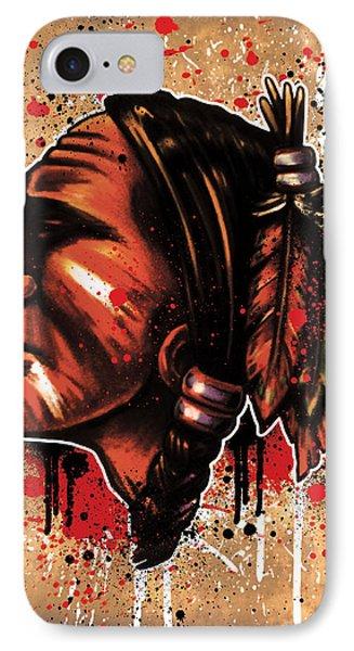 Chihawk Phone Case by Michael Figueroa
