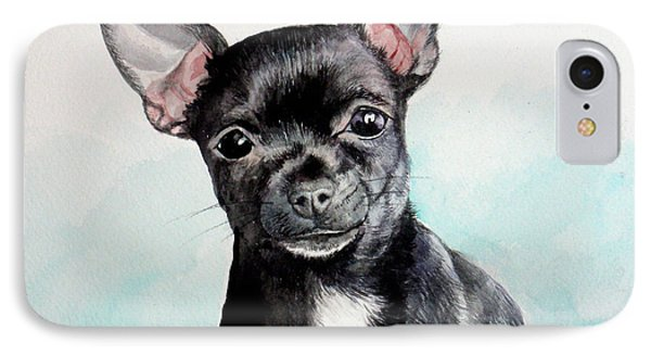 Chihuahua Black IPhone Case