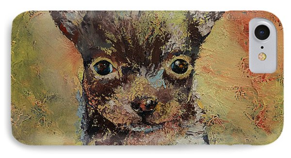 Chihuahua Phone Case by Michael Creese
