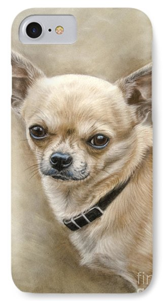 Chihuahua IPhone Case by Tobiasz Stefaniak
